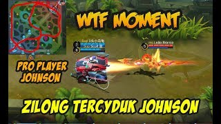 Zilong Tercyduk Johnson Bikin Ngakak Asli Pro Banget Player Johnson nya