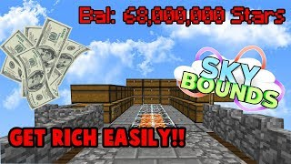 HOW TO GET RICH ON SKYBOUNDS! (Minecraft Skybounds)