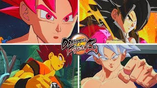 All Goku's Forms and Transformations - Dragon Ball FighterZ Mods