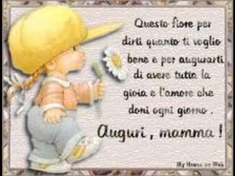 Favorito Buon compleanno mamma !!! - YouTube PW41