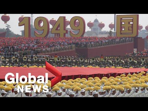 China 70th anniversary parade and celebrations | FULL