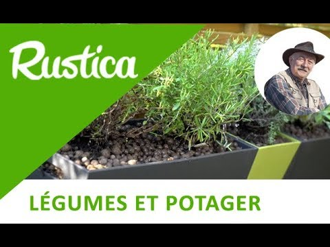 planter une jardini re de plantes aromatiques youtube. Black Bedroom Furniture Sets. Home Design Ideas