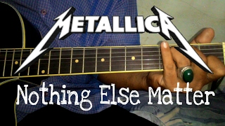 Metalica - Nothing  Else Matters [Official Guitar Video]
