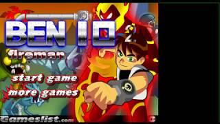 Ben 10 Fireman Alien Game Play   A2Z games