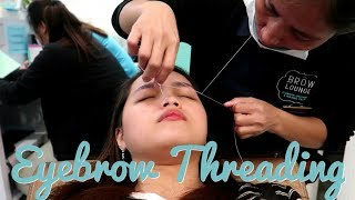 Nagpa-EYEBROW THREADING Ako (Masakit Ba?) + Kunwari STREET FOOD Mukbang | Monica Garcia Vlogs ♡