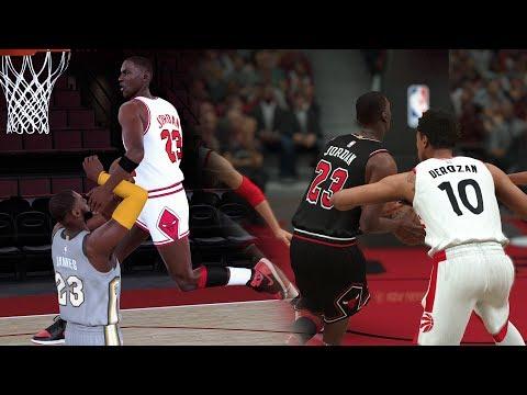 What If Michael Jordan Played In Todays NBA? (NBA 2K18 Michael Jordan MyCareer)