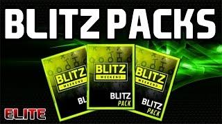 BLITZ Packs Opening! - Madden Mobile 16