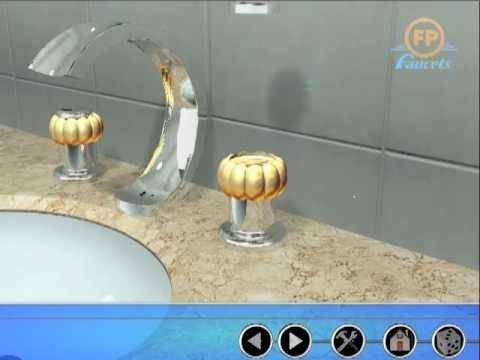 C mo instalar lavamanos 8 pulgadas fundici n pacif co for Lavamanos sin instalacion