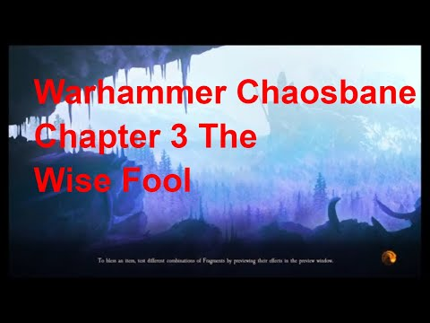 Warhammer Chaosbane gameplay walkthrough part 19 Chapter 3 The Wise Fool |