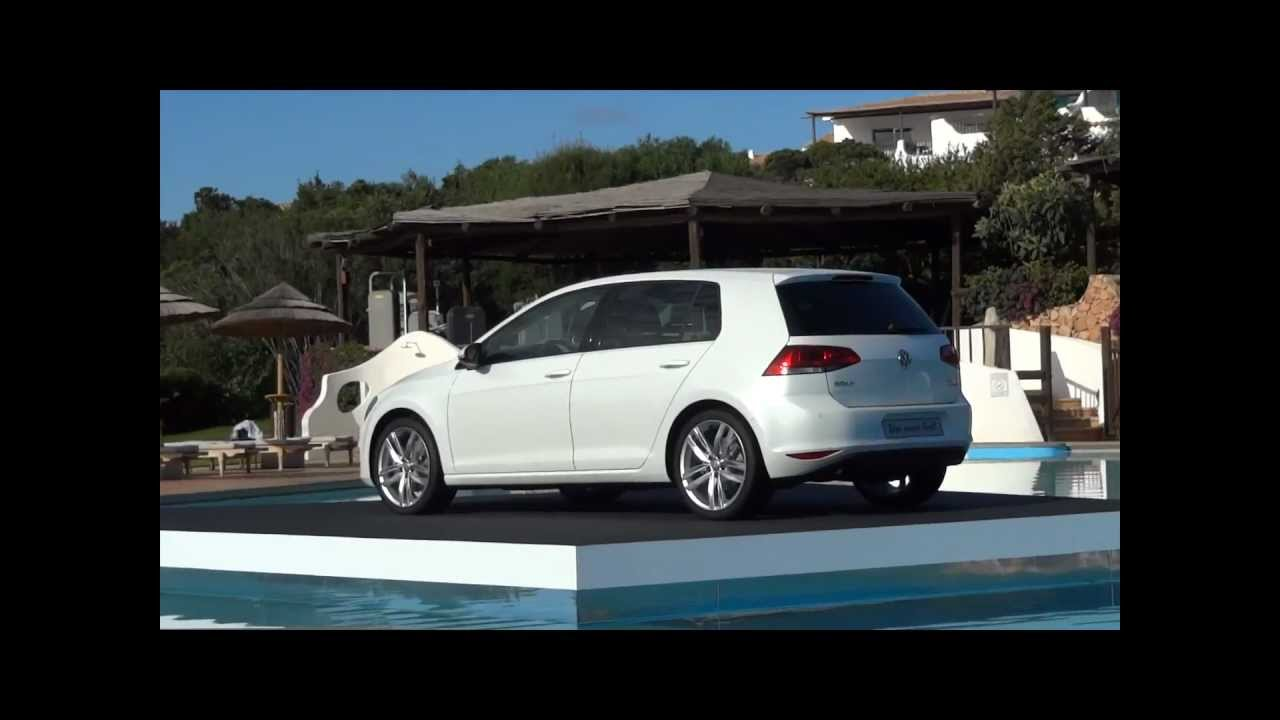 2013 vw golf 7 1 4 tsi 140 ch carat test drive in sardinia. Black Bedroom Furniture Sets. Home Design Ideas