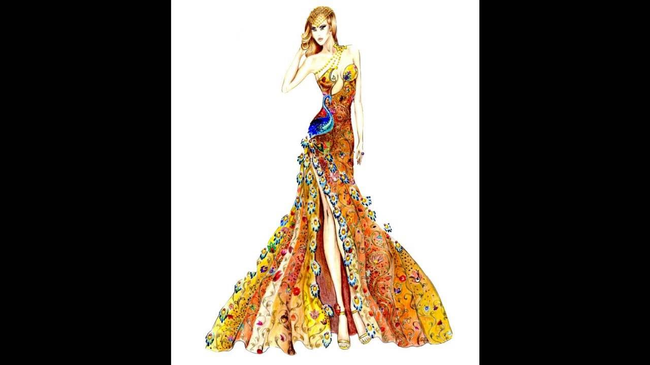 Famoso 10 Top Moda Disegni Stilisti 2016 - YouTube ID86