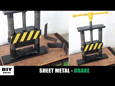Make A Sheet Metal Bender | DIY