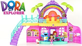 Cafeteria de Dora y Sus Amigos Con Canciones de Nickelodeon Cookie Monster Play Doh Hello Kitty
