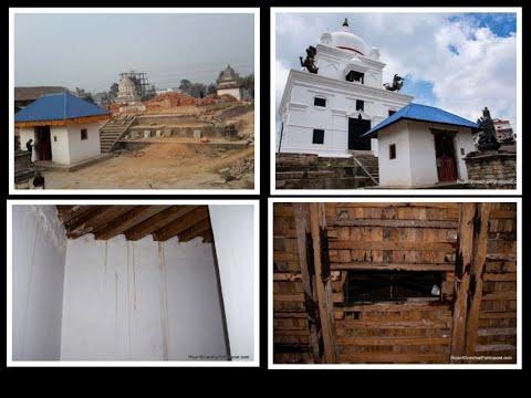 कालमोचनको बेहाल : पुनर्निर्माण सकिएको मन्दिरमा चुहिन्छ पानी