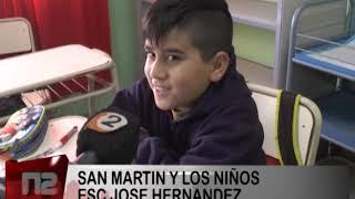 SAN MARTIN Y LOS CHICOS