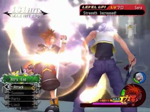 Kingdom Hearts 2 Final Mix - Riku! Time's Up!