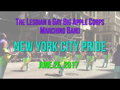 """The Lesbian & Gay Big Apple Corps performing """"I Know You Want Me/Llorando Se Fue"""""""
