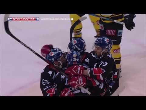 Erste Bank Eishockey Liga, 5. Viertelfinale: Vienna Capitals – HC TWK Innsbruck 1:2
