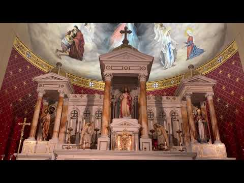 Sung Vespers on the Vigil of the Annunciation - Chapel of Divine Mercy (3/24/20)