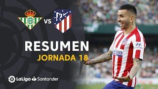 Resumen de Real Betis vs Atlético de Madrid (1-2)