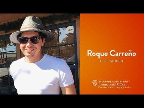 Why Choose UT ESL? - Roque Carreño, Colombia
