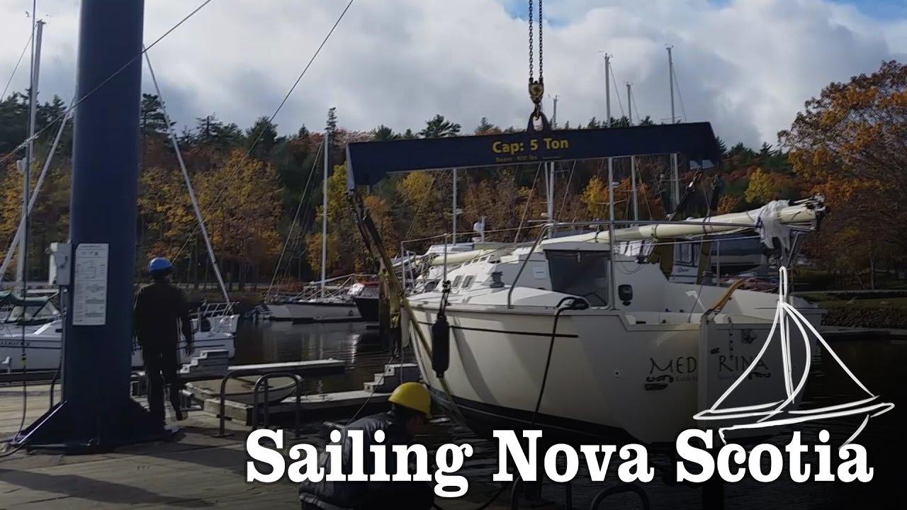 Download Sailboat Haul out and Cape Split [ Episode 10- Sailing Nova Scotia]