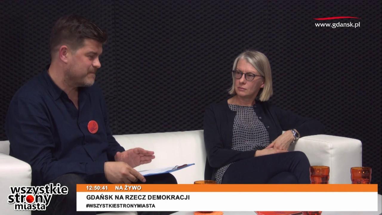 2017.09.07 Gdański Tydzień Demokracji 2017 w studiu gdansk.pl