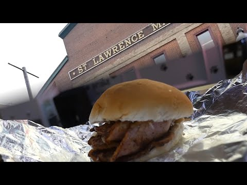 Toronto's  Oldest Market! - St Lawrence Market Tour