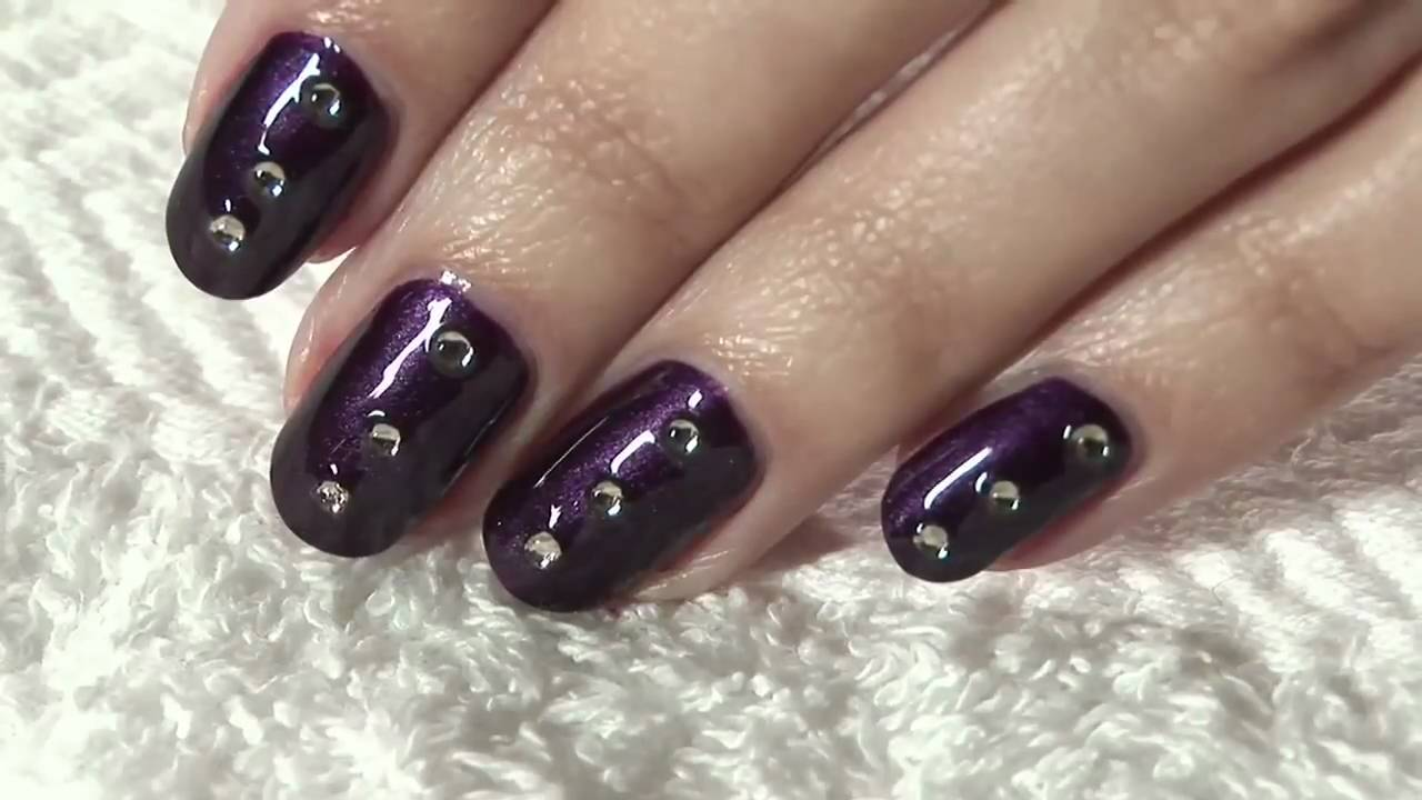 How to apply nail art at home youtube prinsesfo Choice Image