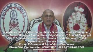 Viveka Chudamani : Day 71 : Shlokam 324 325 : By Sri Chalapathirao