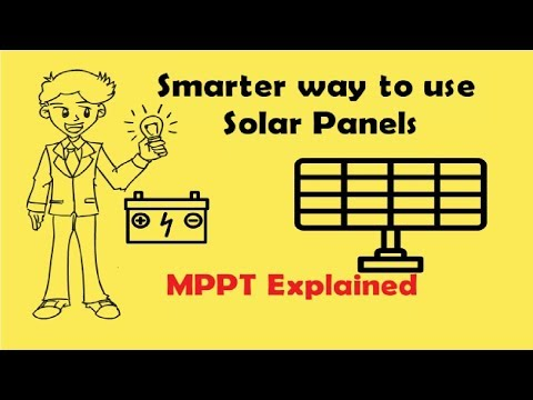 Smarter Way to Use Solar Panels (MPPT Device)
