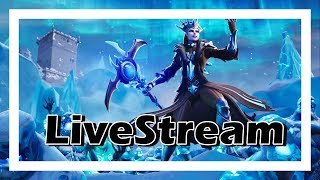 FORTNITE-GIVEAWAY comes to participate-ALL FULL OF SNOW #RUSH4K-LIVESTREAM #203