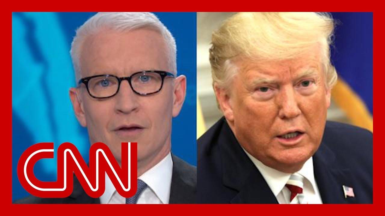 CNN:Trump's head-spinning flip stuns Anderson Cooper