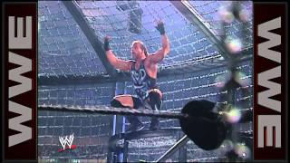 Rob Van Dam connects with a Five Star Frog Splash: Survivor Series 2002
