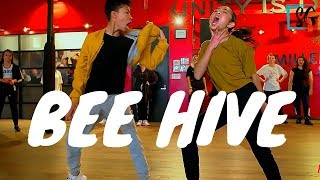 Sheaden and Nicole hip hop dance collaboration by Anze to Bee Hive