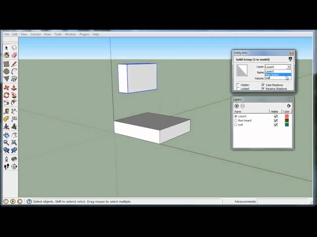 Sketchup – All In With Layers   The Electric Chronicles