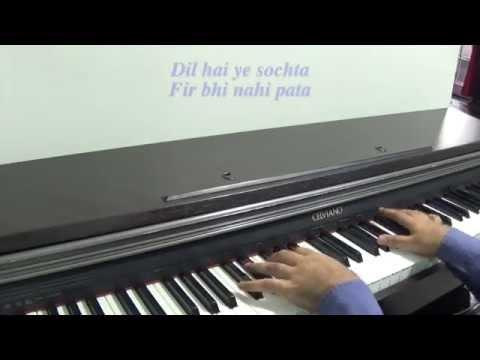 Main Hoon Hero Tera - Hero (Salman Khan) Piano Cover