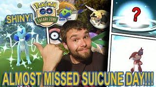 SHINY SUICUNE RAID DAY! MONTREAL SAFARI ZONE! AND BRAND NEW SHINY EVOLUTIONS! (Pokemon GO)
