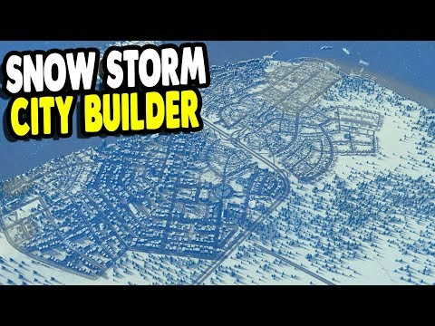 New City Building Project | Frozen Capital City Construction | Cities: Skylines Gameplay