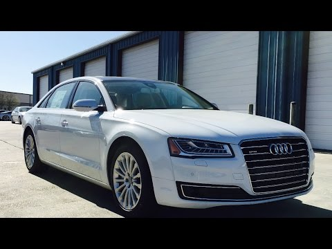 2016 Audi A8 L Full Review, Start Up, Exhaust