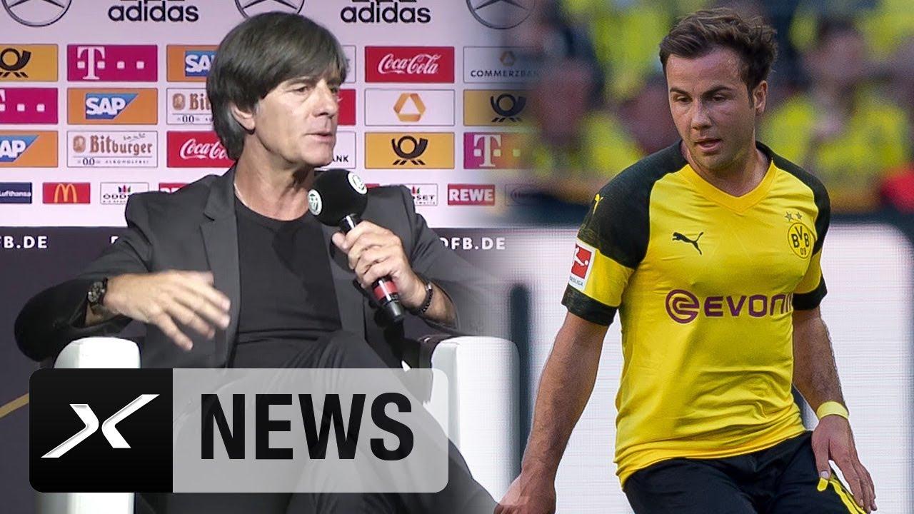 Download Joachim Löw zu Nils Petersen und zum WM-Aus von Mario Götze und Sandro Wagner   DFB-Team   WM 2018