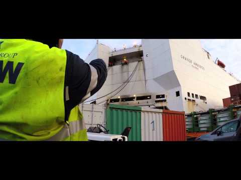 What's it like to travel on a cargo ship to South America.