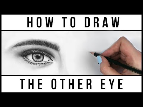 How to Draw BOTH Eyes Evenly | Easy Step by Step Art Drawing Tutorial