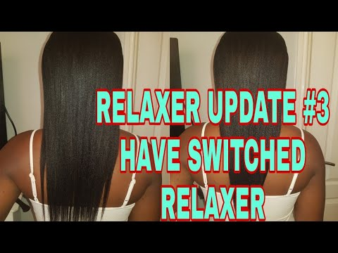 RELAXER UPDATE #3 RELAXER SWITCHED HAIR VITAMIN TALK