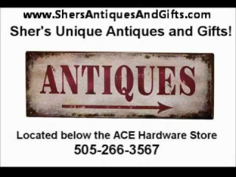 Albuquerque Antiques | Albuquerque Antique Store |Sher's Unique Antiques and Gifts