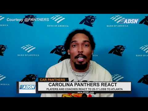 REACTION : Carolina Panthers players react to 25 - 17 loss to the Atlanta Falcons