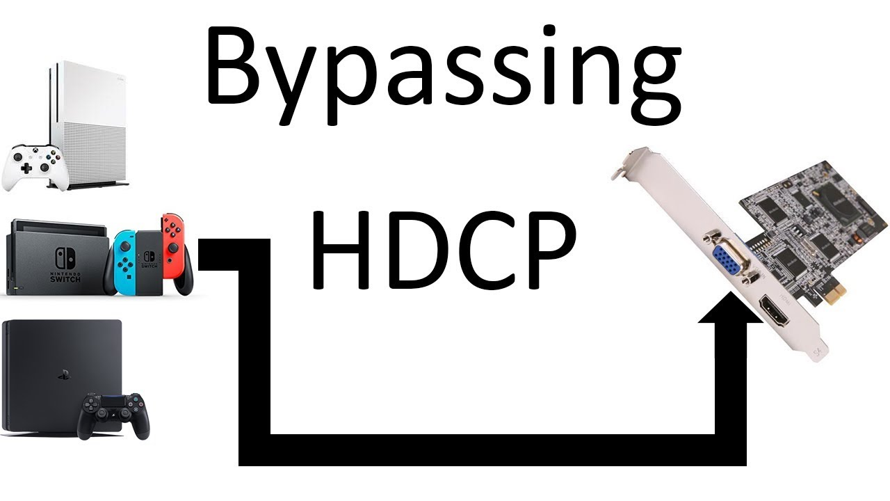 Bypassing HDCP