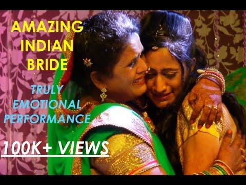 Best Indian Bride Wedding Dance Performance!! Audience Got Emotional!!