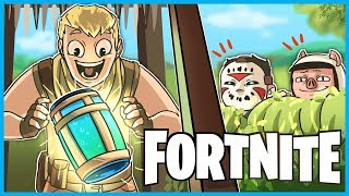 The LEGENDARY CHUG JUG TRAP in Fortnite: Battle Royale! (Fortnite Funny Duos w/ H2O Delirious)