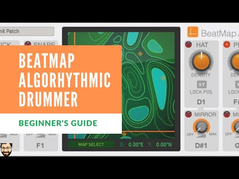 How to Use BeatMap Algorhythmic Drummer in Reason 11